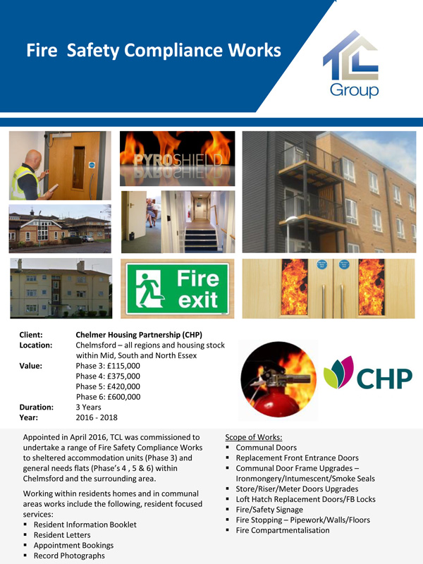 CHP – Fire Safety Compliance Works