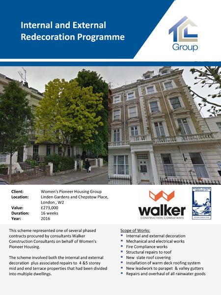 Womens Pioneer Housing Group – Contract 3